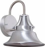 Craftmade Z4404-33 Union Satin Aluminum Exterior Small Wall Mounted Lamp