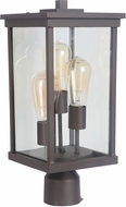 Craftmade Z9725-92 Riviera III Oiled Bronze Outdoor Lighting Post Light