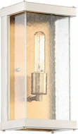 Craftmade Z9902-32 Farnsworth Contemporary Brushed Nickel / Patina Aged Brass Outdoor Small Wall Sconce Lighting