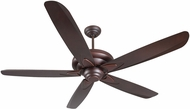 Craftmade ZE56OBG5 Zena Oiled Bronze Gilded Indoor 56  Ceiling Fan