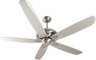 Craftmade ZE56SS5 Zena Stainless Steel Indoor 56  Home Ceiling Fan