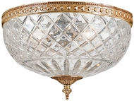 Crystorama 117-10-OB Olde Brass Ceiling Light