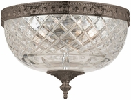 Crystorama 117-8-EB English Bronze Ceiling Light Fixture
