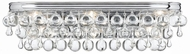 Crystorama 133-CH Calypso Polished Chrome 23  Bathroom Lighting