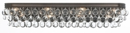 Crystorama 134-VZ Calypso Vibrant Bronze 33  Bathroom Light