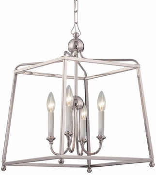 Crystorama 2245-PN-NOSHADE Sylvan Polished Nickel 16  Entryway Light Fixture