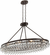 Crystorama 279-VZ Calypso Vibrant Bronze Kitchen Island Lighting