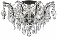 Crystorama 4457-VZ-CL-MWP Filmore Vibrant Bronze Flush Ceiling Light Fixture