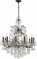 Crystorama 4458-VZ-CL-MWP Filmore Vibrant Bronze Ceiling Chandelier