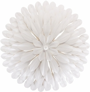 Crystorama 505-MT-WALL Broche Matte White Sconce Lighting