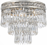 Crystorama 5260-OS-CL-MWP Mercer Olde Silver Overhead Lighting Fixture
