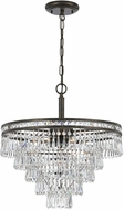 Crystorama 5264-EB-CL-MWP Mercer English Bronze Chandelier Light
