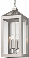 Crystorama 6053-PN Hurley Polished Nickel Foyer Lighting Fixture