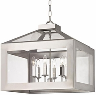 Crystorama 6056-PN Hurley Polished Nickel Foyer Lighting