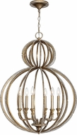 Crystorama 6766-DT Garland Distressed Twilight Chandelier Light
