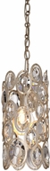 Crystorama 7580-DT Sterling Distressed Twilight Mini Pendant Lighting