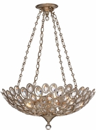 Crystorama 7587-DT Sterling Distressed Twilight Pendant Lamp