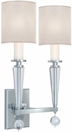 Crystorama 8102-PN Paxton Polished Nickel Lamp Sconce