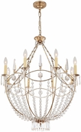 Crystorama 8308-DT Waverly Distressed Twilight Chandelier Light