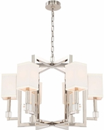 Crystorama 8886-PN Dixon Polished Nickel Chandelier Light