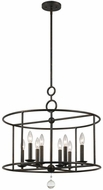 Crystorama 9166-EB Cameron English Bronze Chandelier Light