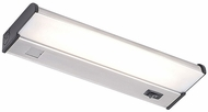CSL CAF-12-SS Counter Attack Contemporary Stainless Steel Fluorescent 12  Cabinet Lighting