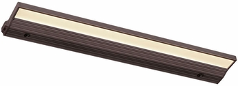 CSL ECL-24-BZ Eco Counter Contemporary Bronze LED Dimmable 24  Cabinet Lighting