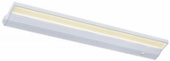 CSL ECL-24-WT Eco Counter Contemporary White LED Dimmable 24  Under Cabinet Light