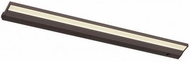 CSL ECL-32-BZ Eco Counter Modern Bronze LED Dimmable 32  Under Counter Light