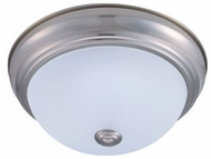 Cyber Tech C15122-NS-LED Stepdown Nickel Satin LED 11  Opal Lens Ceiling Light