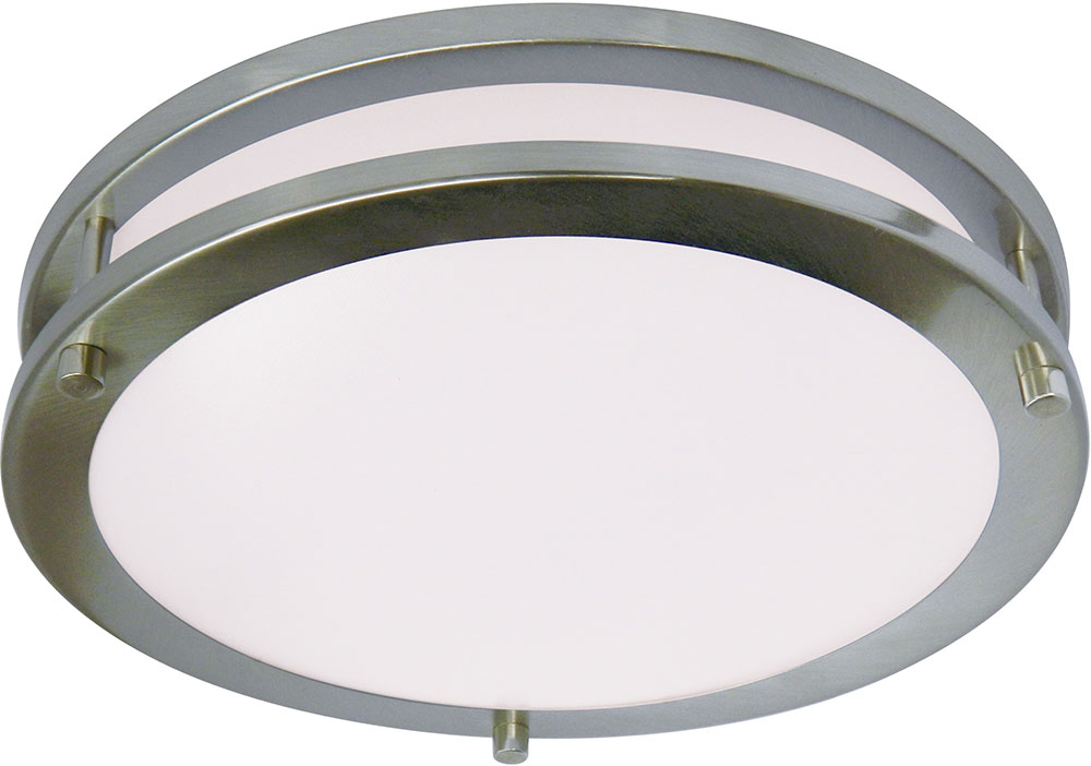 cyber tech c15sat ns led saturn nickel satin led ceiling light