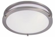 Cyber Tech C23SAT-NS-LED Saturn Nickel Satin LED Overhead Lighting