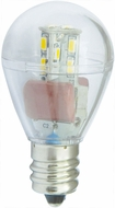 Cyber Tech LB1S11-RL-WW 1 Watt LED E12 S11 Refrigerator Light Bulb