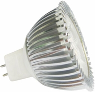 Cyber Tech LB3MR16-AM 3.5 Watt LED G5.3 Amber MR16 Lamp Bulb