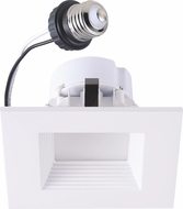Cyber Tech LC12RT4-SQW-WW LED Exterior 4  Dimmable Square Retrofit Down Lighting