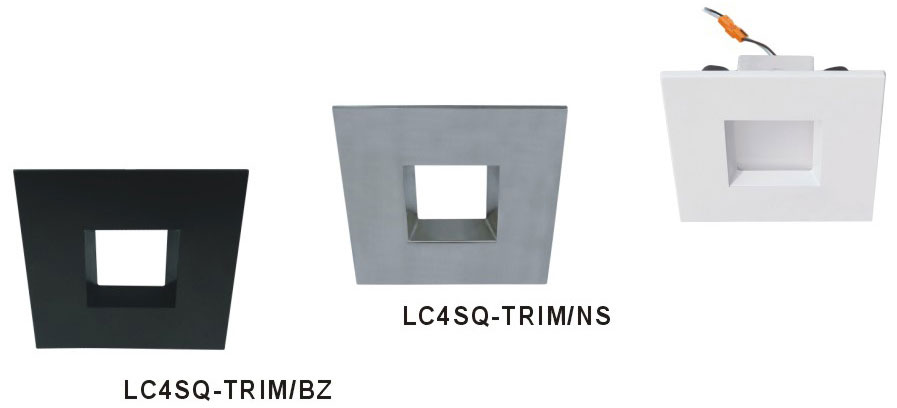 Cyber tech lc4sq trim 4 square recessed lighting trim cyb lc4sq trim cyber tech lc4sq trim 4nbsp square recessed lighting trim loading zoom aloadofball Gallery