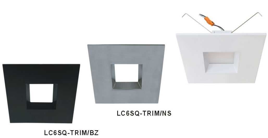 Cyber tech lc6sq trim 6 square trim for recessed lighting cyb cyber tech lc6sq trim 6nbsp square trim for recessed lighting loading zoom mozeypictures Gallery