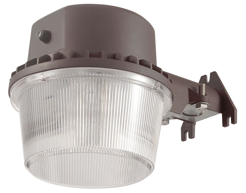 Cyber Tech LWP35YP-BZ-DL Contemporary LED Exterior Secure Home ...
