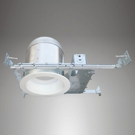 Cyber Tech R6NC-12RT-ECO-IC LED 6  New Construction Can & 12W Trim Kit Recessed Lighting Trim