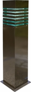 Dabmar D170-BZ Contemporary Bronze Outdoor Powder Coated Bollard Pathway Lighting