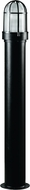 Dabmar D3100-B Modern Black Exterior Powder Coated Bollard Path Lighting