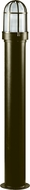 Dabmar D3100-BZ Contemporary Bronze Outdoor Powder Coated Bollard Pathway Lighting