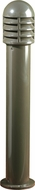Dabmar D3400-BZ Contemporary Bronze Outdoor Powder Coated Cast Aluminum Bollard Pathway Lighting