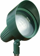 Dabmar DPR40-HOOD-G Green Outdoor Directional Spot Light with Hood