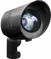 Dabmar FG132-B Black Halogen Exterior Fiberglass Directional Spot Lighting with Hood