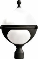 Dabmar GM972-B Black Exterior Powder Coated Cast Aluminum Lamp Post Light Fixture