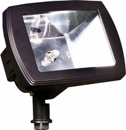 Dabmar LV105-B Modern Black Halogen Exterior Flood Light Fixture