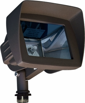 Dabmar LV105-HOOD-BZ Modern Bronze Halogen Exterior Security Lighting