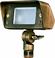 Dabmar LV116-WBS Contemporary Weathered Brass Halogen Outdoor Residential Security Lighting