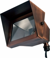 Dabmar LV117-ABZ Contemporary Antique Bronze Halogen Outdoor Security Lighting